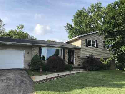 Columbus Single Family Home For Sale: W12168 Lange Rd