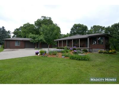 Sauk County Single Family Home For Sale: S13036 Highbanks Rd