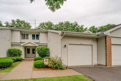 Waunakee Condo/Townhouse For Sale: 214 Creek Edge Ct