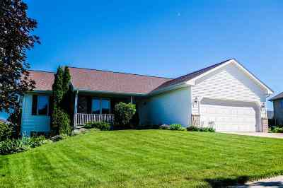 Deforest WI Single Family Home For Sale: $280,000