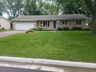 Janesville Single Family Home For Sale: 3416 Hampshire Rd