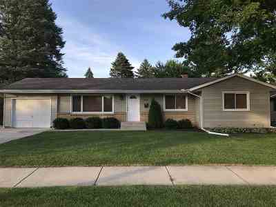 Janesville Single Family Home For Sale: 2223 E Luther Rd