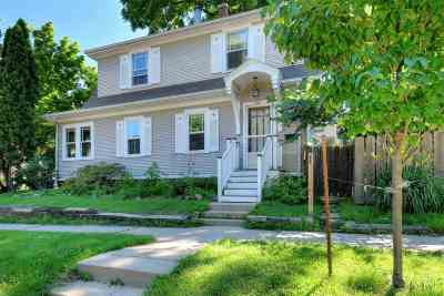Madison Single Family Home For Sale: 501 Evergreen Ave