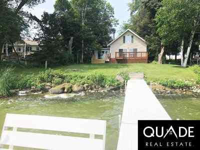 Dodge County Single Family Home For Sale: N10438 Howard Dr