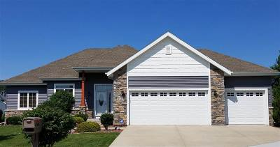 Janesville Single Family Home For Sale: 4245 Cascade Dr