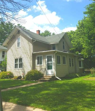 Milton Single Family Home For Sale: 314 W Madison Ave