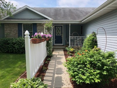 Janesville Single Family Home For Sale: 3808 Sandhill Dr
