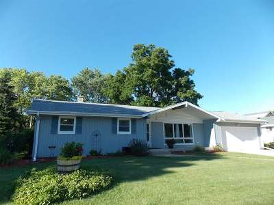 Milton Single Family Home For Sale: 1024 W Madison Ave