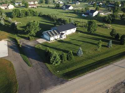 Green County Single Family Home For Sale: N9579 County Road D