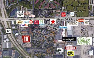 Madison Commercial For Sale: 7601 Mineral Point Rd