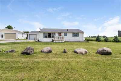 Columbus Single Family Home For Sale: W12192 Hwy 16/60