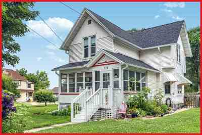 Jefferson County Single Family Home For Sale: 714 W Madison St