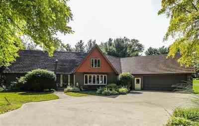 Janesville Single Family Home For Sale: 1221 S River Rd