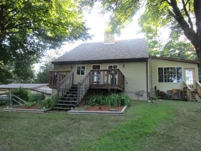 Pardeeville Single Family Home For Sale: N5665 Dunning Rd
