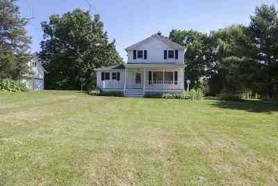 Cambridge Single Family Home For Sale: 1215 County Road B