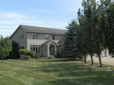 Rock County Single Family Home For Sale: 12034 E Creek Rd
