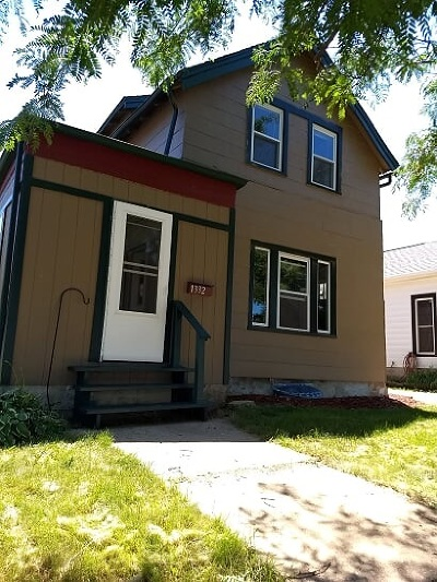 Green County Single Family Home For Sale: 1332 18th St