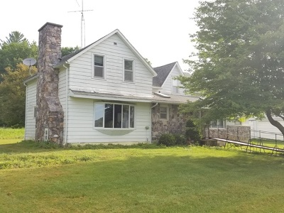 Sauk County Single Family Home For Sale: E8650 McCoy Rd