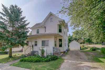Green County Single Family Home For Sale: 319 9th Ave