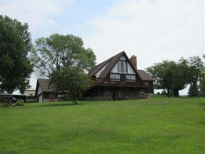 Green County Single Family Home For Sale: N3520 Aebly Rd