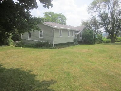 Sauk County Single Family Home For Sale: S5262 Hwy 136