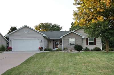 Rock County Single Family Home For Sale: 3435 Cricketeer Dr
