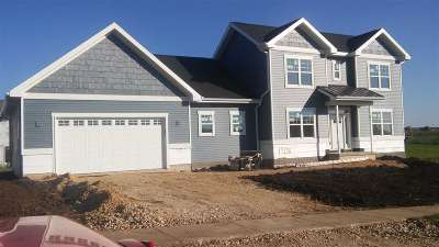 Mount Horeb WI Single Family Home For Sale: $384,900