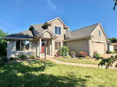 Janesville Single Family Home For Sale: 1037 Bedford Dr