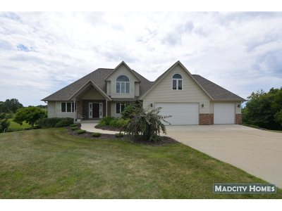 Green County Single Family Home For Sale: W5291 Windmill Ridge Rd