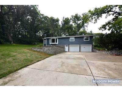 Fitchburg Single Family Home For Sale: 2889 Glacier Valley Rd