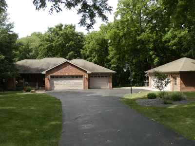 Janesville Single Family Home For Sale: 5621 N County Rd F