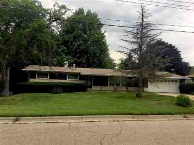 Janesville Single Family Home For Sale: 2504 River View Dr