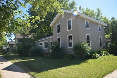 Walworth County Multi Family Home For Sale: 224 N Wisconsin St