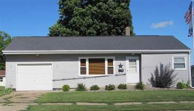 Fennimore Single Family Home For Sale: 945 Jackson St