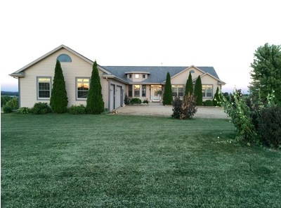 Green County Single Family Home For Sale: W3909 Towns Rd
