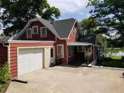 Edgerton Single Family Home For Sale: 10056 N Edgewood Shores Rd