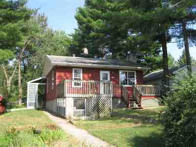 Friendship WI Single Family Home For Sale: $72,500