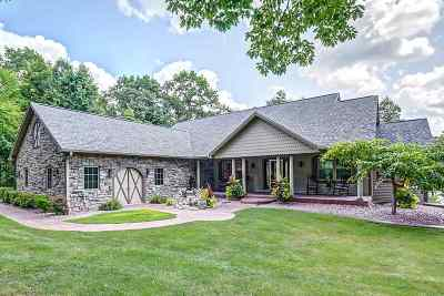 Columbia County Single Family Home For Sale: W8849 Dupless Rd