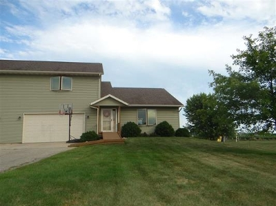 Green County Single Family Home For Sale: N8866 Hannah Rd