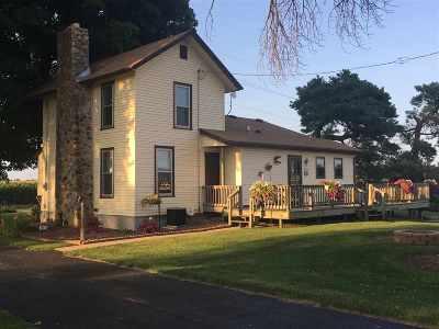 Evansville Single Family Home For Sale: 11707 W Gibbs Lake Rd