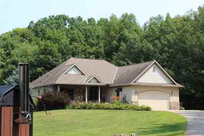 Jefferson County Single Family Home For Sale: W2698 Stakers Row Rd