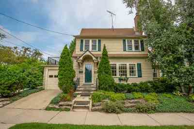 Madison Single Family Home For Sale: 909 Harrison St