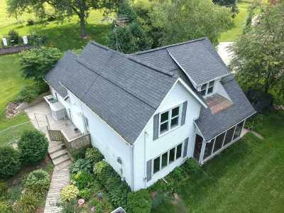 Jefferson County Single Family Home For Sale: N3888 Scheppert Rd