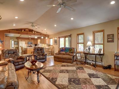 Columbia County Single Family Home For Sale: W6657 King Rd