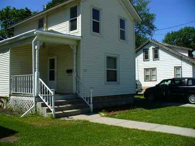 Edgerton Single Family Home For Sale: 406 N Main St