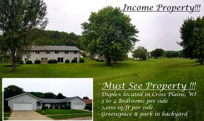 Cross Plains Multi Family Home For Sale: 2032 Continental Ln