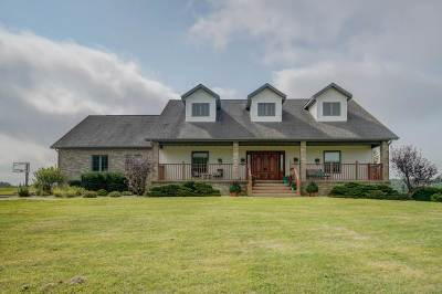 Evansville Single Family Home For Sale: 8304 N County Road M