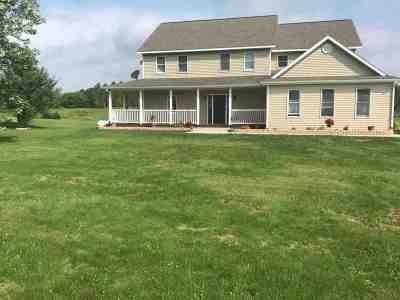 Sauk County Single Family Home For Sale: E8050 N Reedsburg Rd