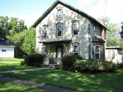 Cambridge Single Family Home For Sale: 305 Sheldon St