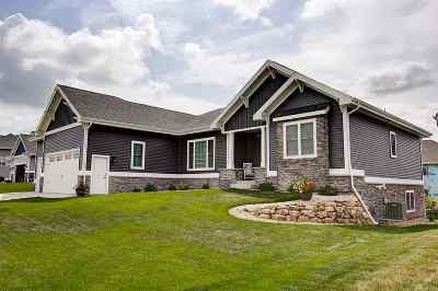 Waunakee Single Family Home For Sale: 821 Victor Ln